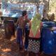 Penyaluran bantuan air bersih oleh BPBD Bangkalan, Minggu (6/10/2019)