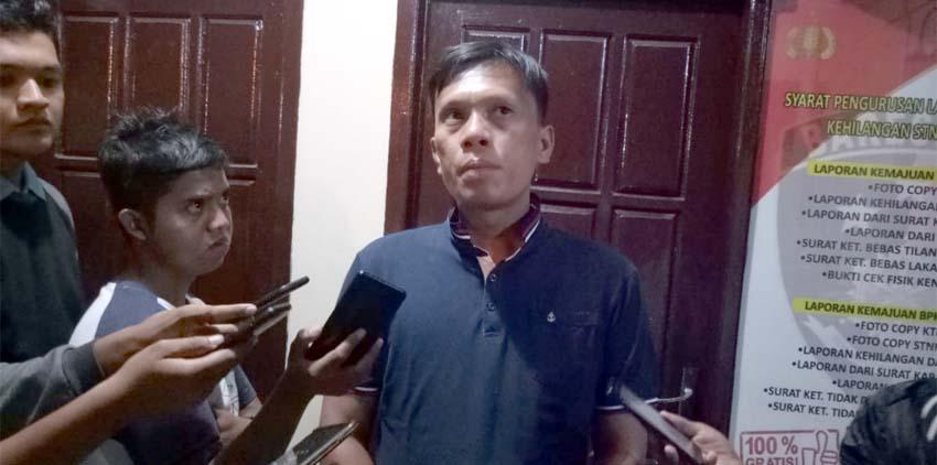 Kasatreskrim Polres Bangkalan, AKP David Manurung saat dikonfirmasi
