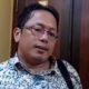Nurhasan Ketua Komisi D DPRD Bangkalan saat diwawancarai. (Isn)