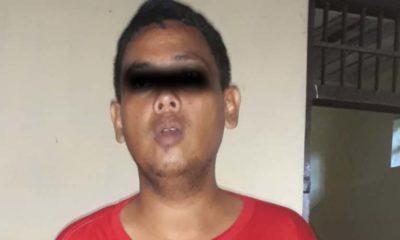 Yunus Rahman saat diringkus polisi