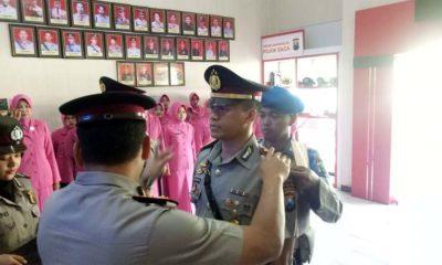 Suasana Sertijab Kasatreskrim Polres Bangkalan