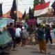 Puluhan Massa saat mendemo Kantor BPN/ATR