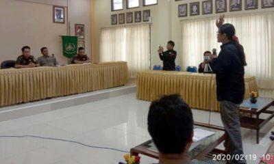 RAR melakukan audiensi pada Kejari Bangkalan