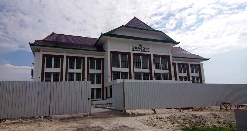 Masuk Tahap Lelang, Gedung DPRD Diperkirakan Rampung Bulan November