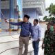 Bangkalan Covid-19 Tak Kenal Libur, Ketua Komisi A Semprot Desinfektan di 5 Titik