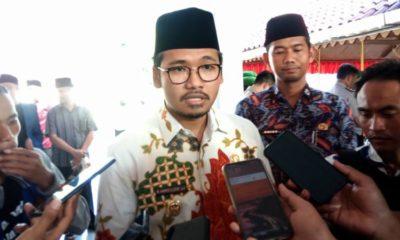 Bupati Bangkalan saat diwawancarai pers