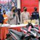 Kapolres Bangkalan, AKBP Rama Samtama Putra saat merilis ungkap kasus kriminal