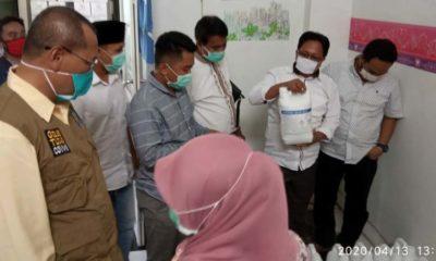 Sidak Komisi D ke Gudang Dinas Kesehatan