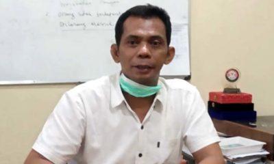 Mahmudi, Anggota DPRD Bangkalan saat berada di ruang kerjanya