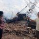 Wakil ketua komisi A DPRD Bangkalan, Ha'i saat di lokasi pemotongan kapal di Kamal