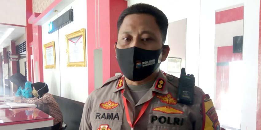 Kapolres Bangkalan. AKBP Rama Samtama Putra