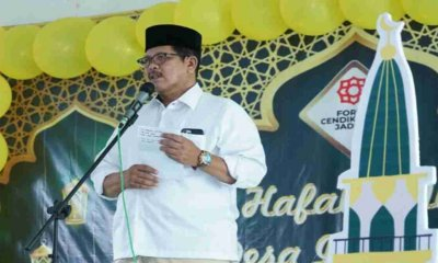 Silaturahmi ke Forum Cendikiawan Jaddih, Wabup juga Buka Lomba Hafalan Juz Amma
